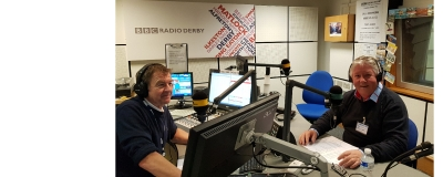 BBC studios today on Andy Twigge show