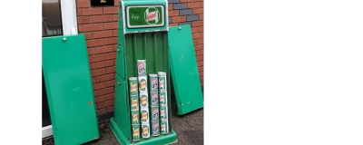 Rare Castrol cabinet sold to regular client within days of being offered for sale !