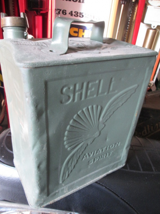 Shell Aviation Can