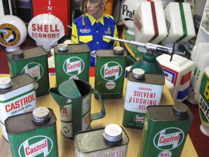 tins and shop items for scene dressing