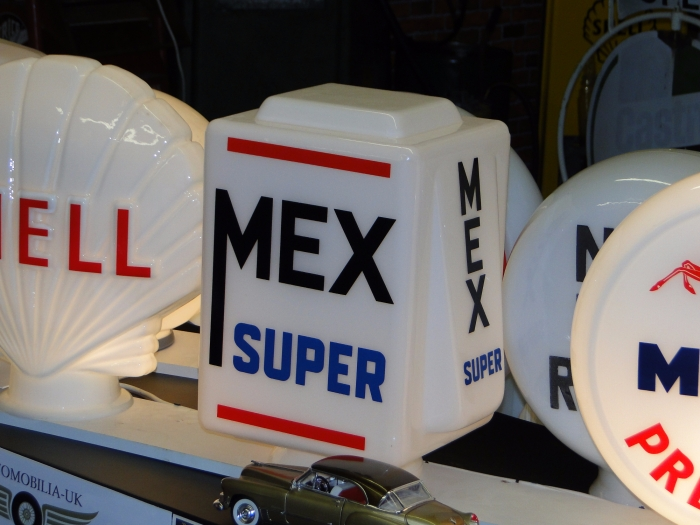 Mex Super GLASS GLOBE Repro