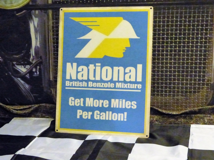 National tin repro sign 16 x 12 inches