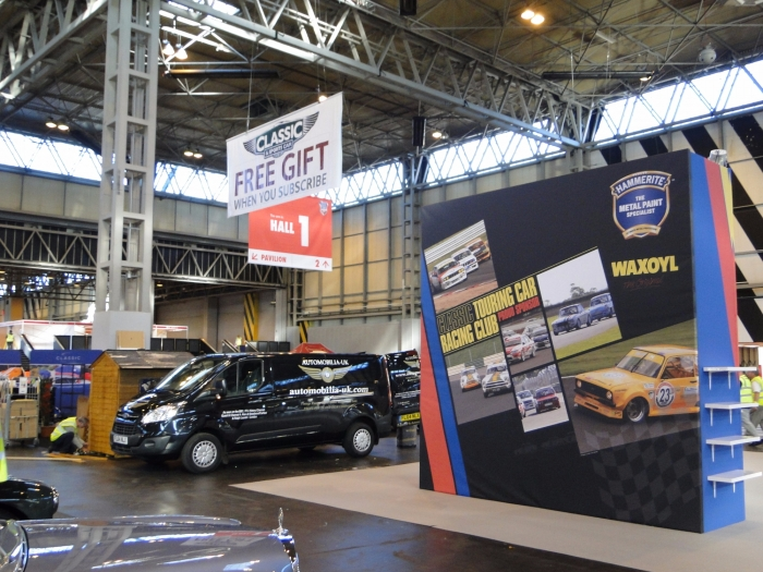 Classic and Sports car mag NEC stand