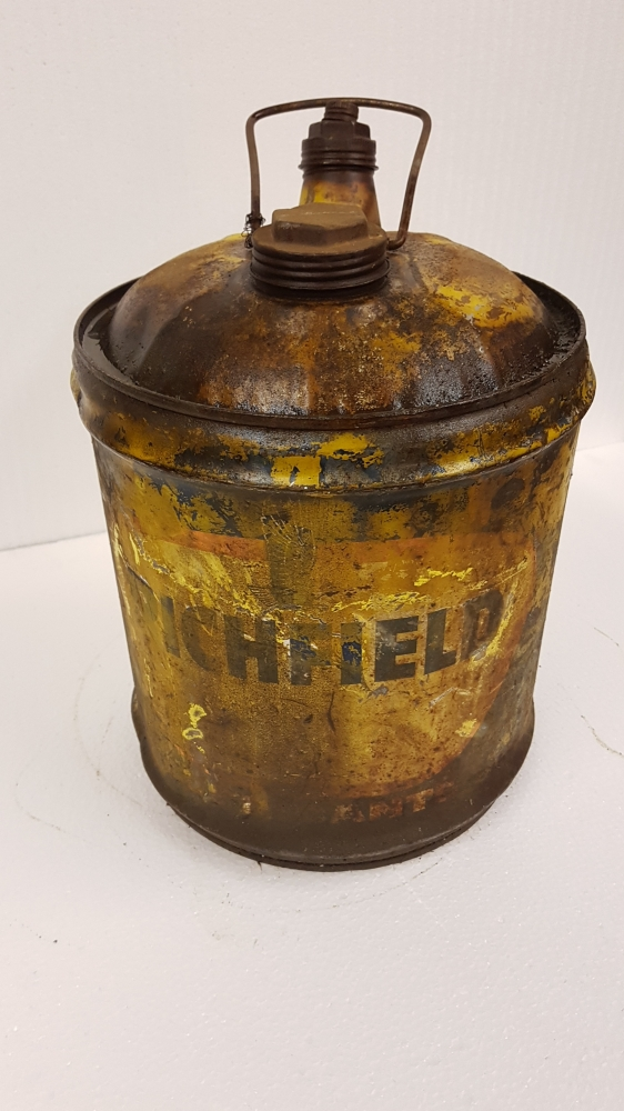 Richfield can 5 gallon , RARE