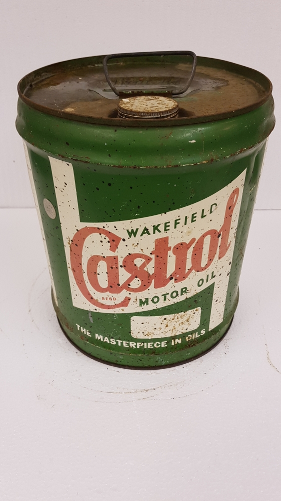 Wakefield Castrol can 5 gallon