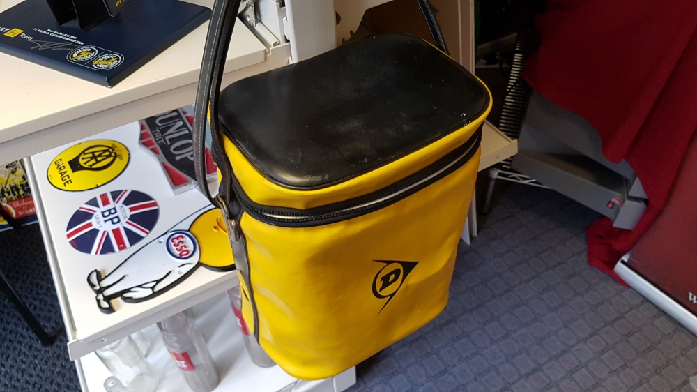Dunlop cooler box /bag great retro item 1980