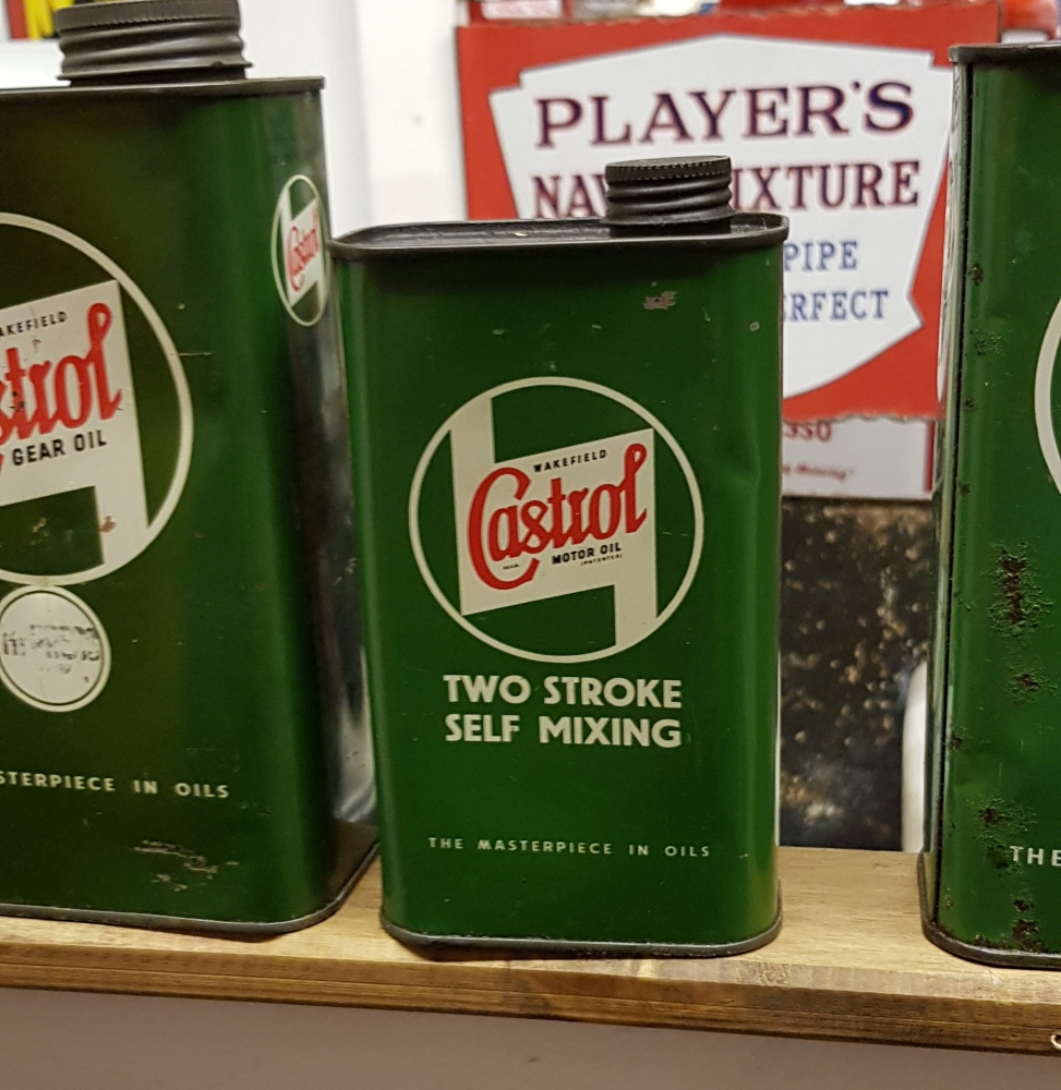 Castrol 2 stroke 1 pint can