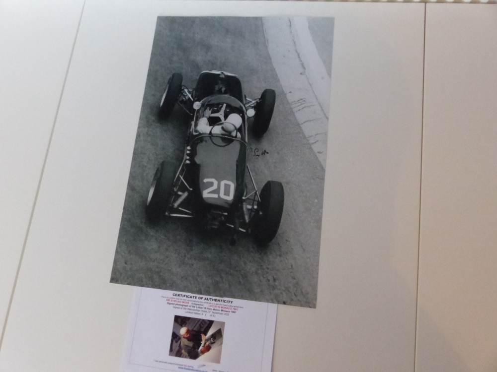 Sir Stirling and the blonde LIMITED EDITION signed print NUMBER ONE of only 61 Available to regular clients only