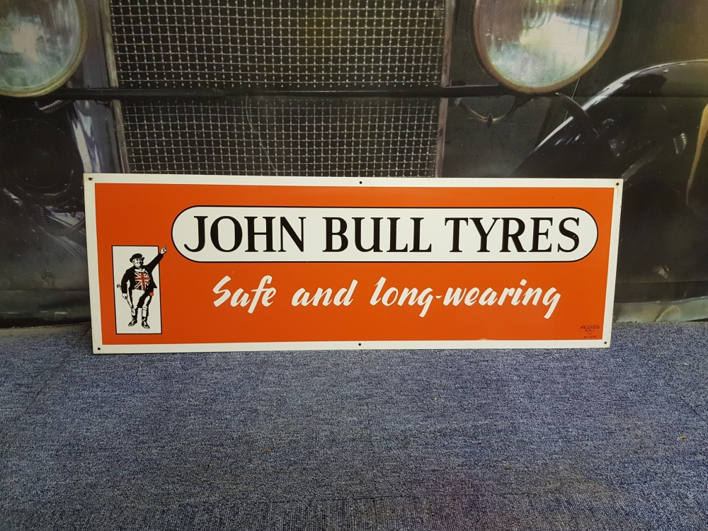 John Bull sign by FRANCO 36 x 12 inch JUST STUNNING !