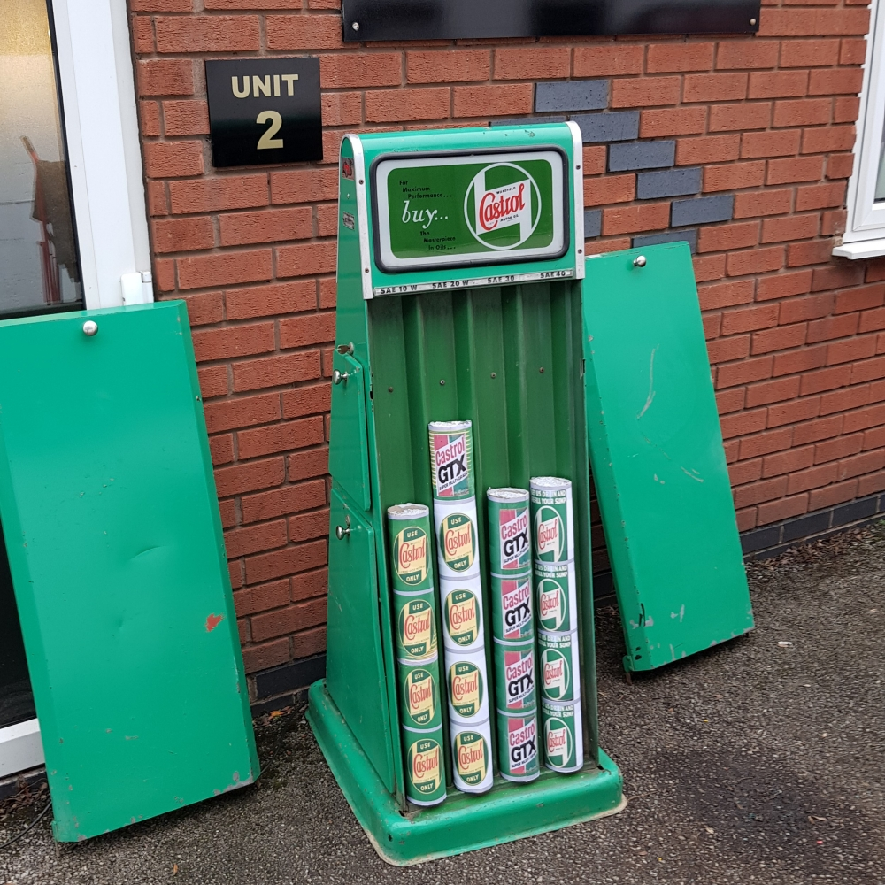Another stunning item Castrol cabinet   NOW SOLD