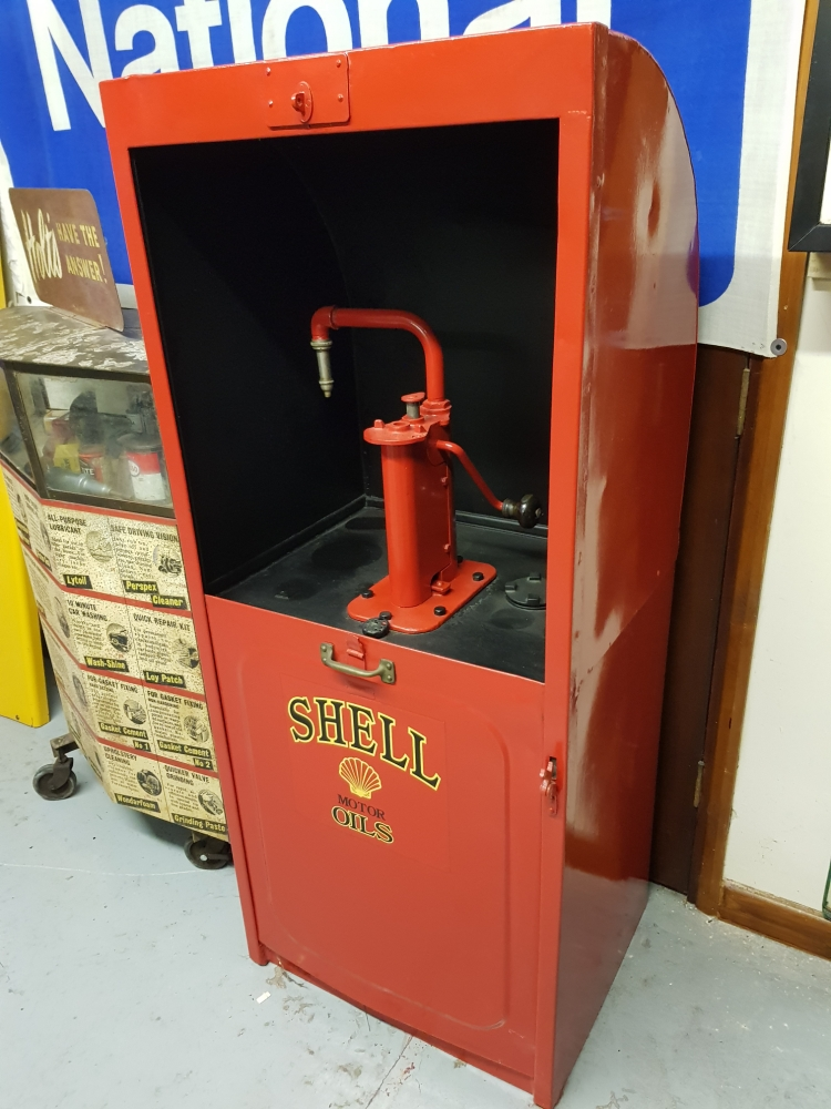 SHELL Oil cabinet single pump