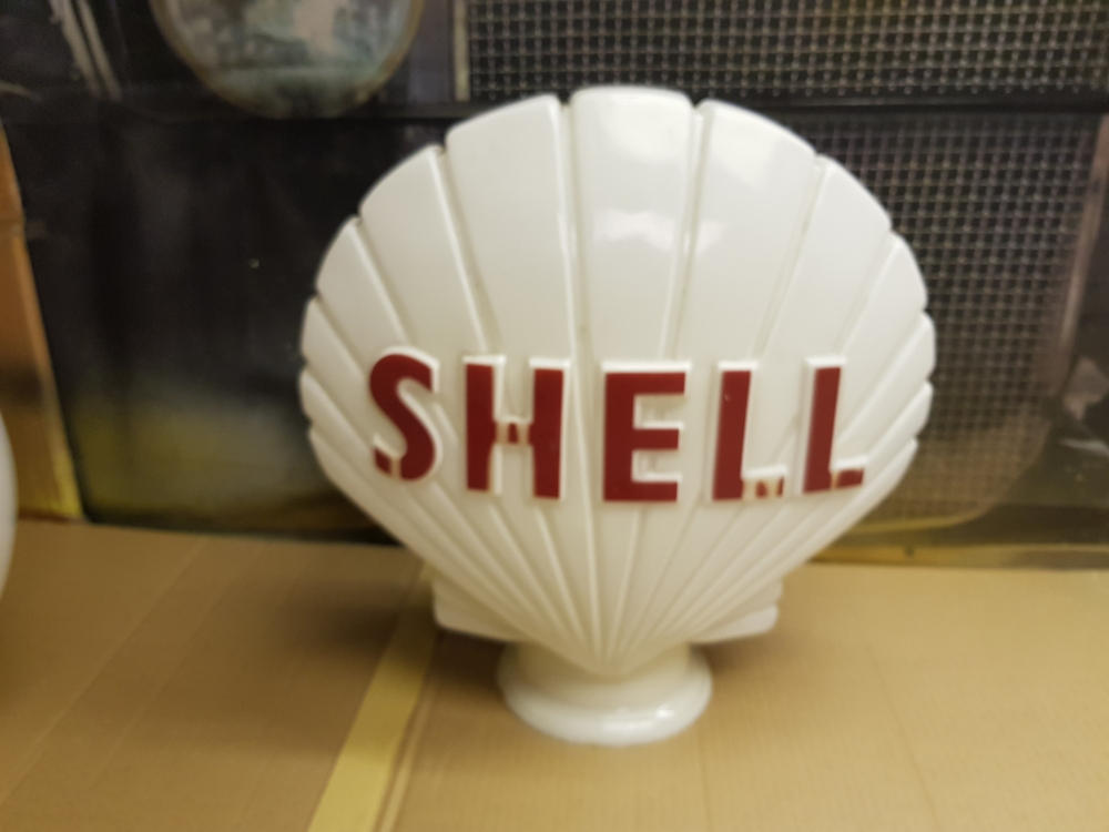 SHELL ORIGINAL glass globe