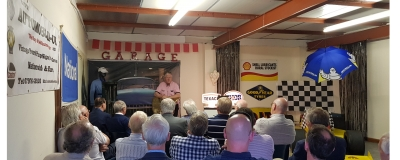 Talk and showroom tour raises £100 for RNLI