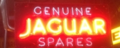 Jaguar neon sign finds buyer in USA