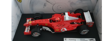Rare signed Michael Schumacher item plus Charles LeClerc and Nigel Mansell