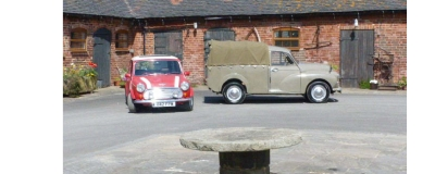 Morris pick up and Mini Cooper S RSP now on the road !