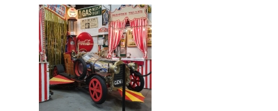 Chitty Chitty Bang Bang flies in to showroom