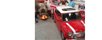 RSP Mini Cooper joins Chitty in showroom !