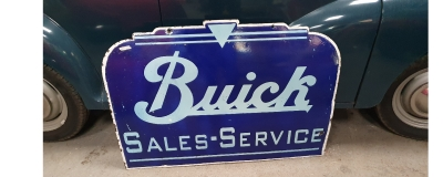 Buick and Yamaha ORIGINAL rare signs now in showroom on sale  !!!!!