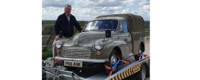 Morris 1000 Pick Up moves to Cambridge