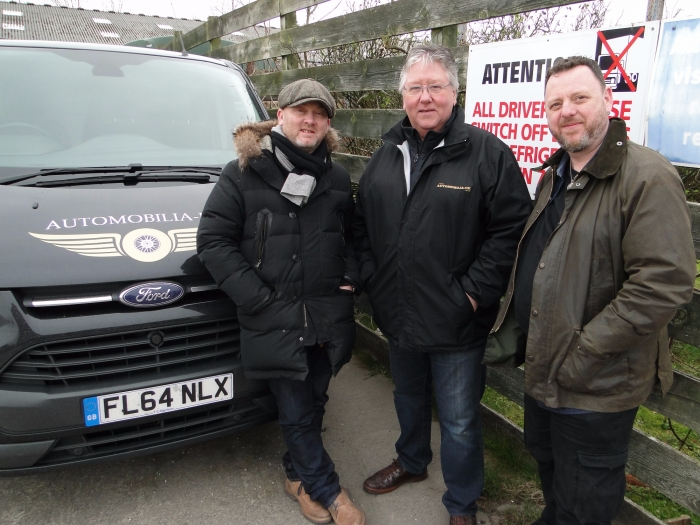 "Automobilia-uk featured on SALVAGE HUNTER with Drew Pritchard and ""T"" filmed in 2015 Series 7 Episode 7"