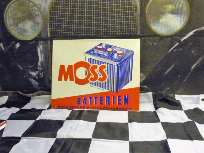 MOSS tin repro sign REPRODUCTION