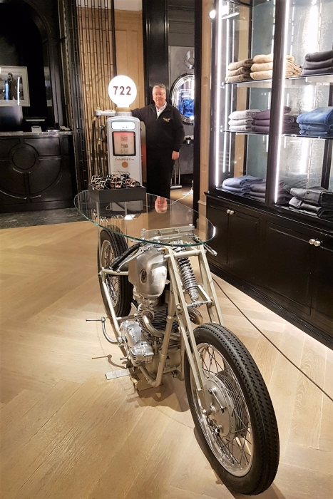Belstaff display LONDON BOND STREET