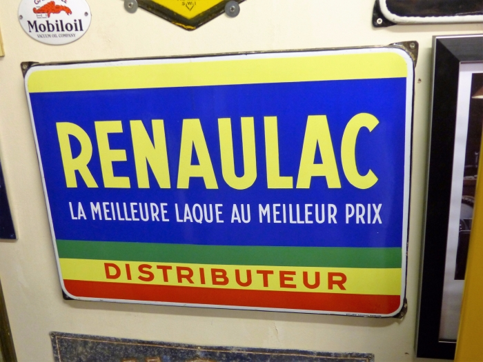 Renaulac sign STUNNING ITEM ! ORIGINAL !