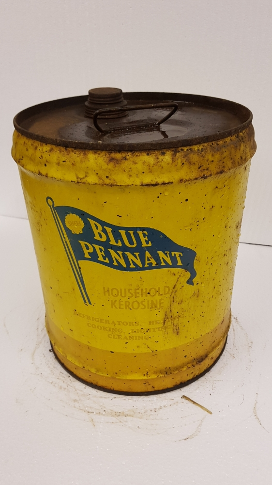 Blue Pennant rare can 5gallon