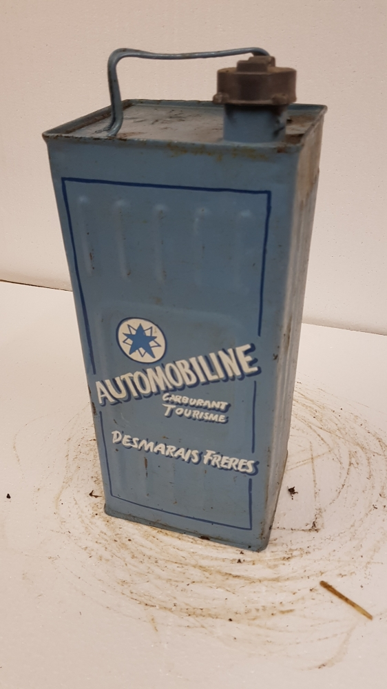 Automobiline can great display item 1 gallon
