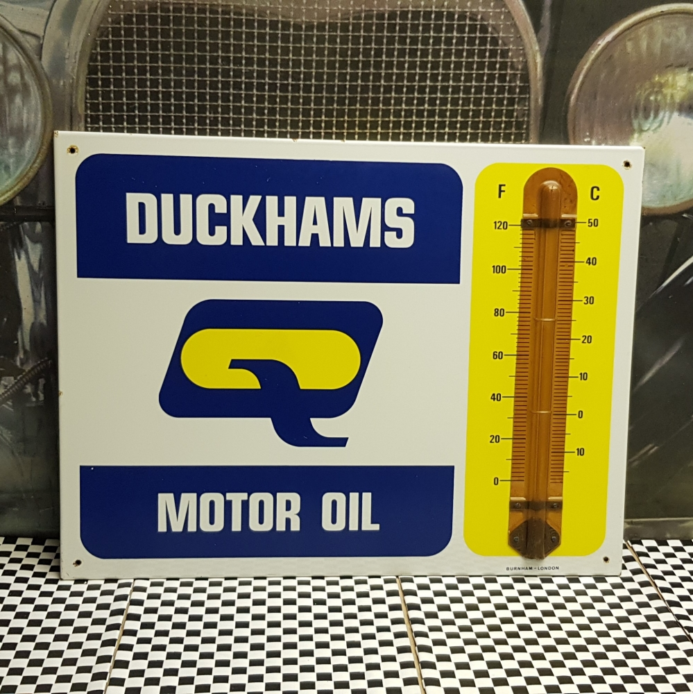 Duckhams Thermometer 1950