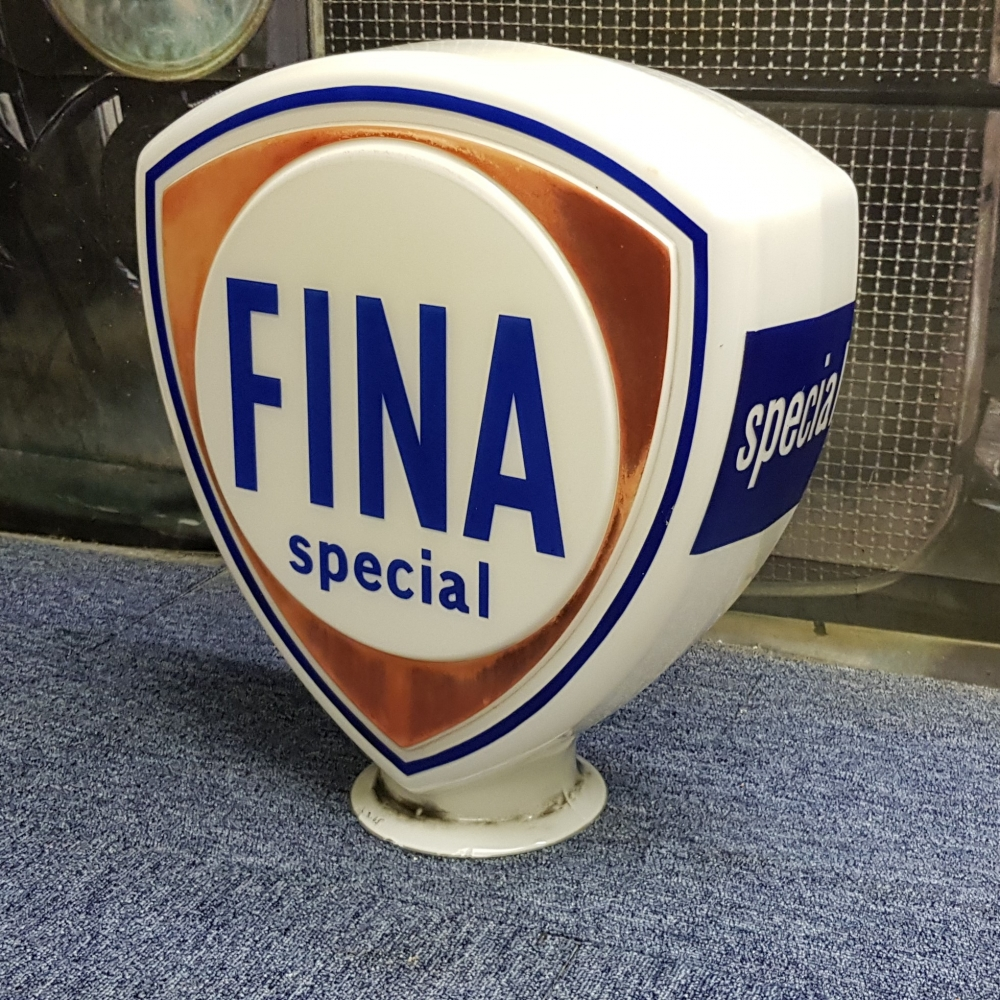 FINA glass globe ORIGINAL