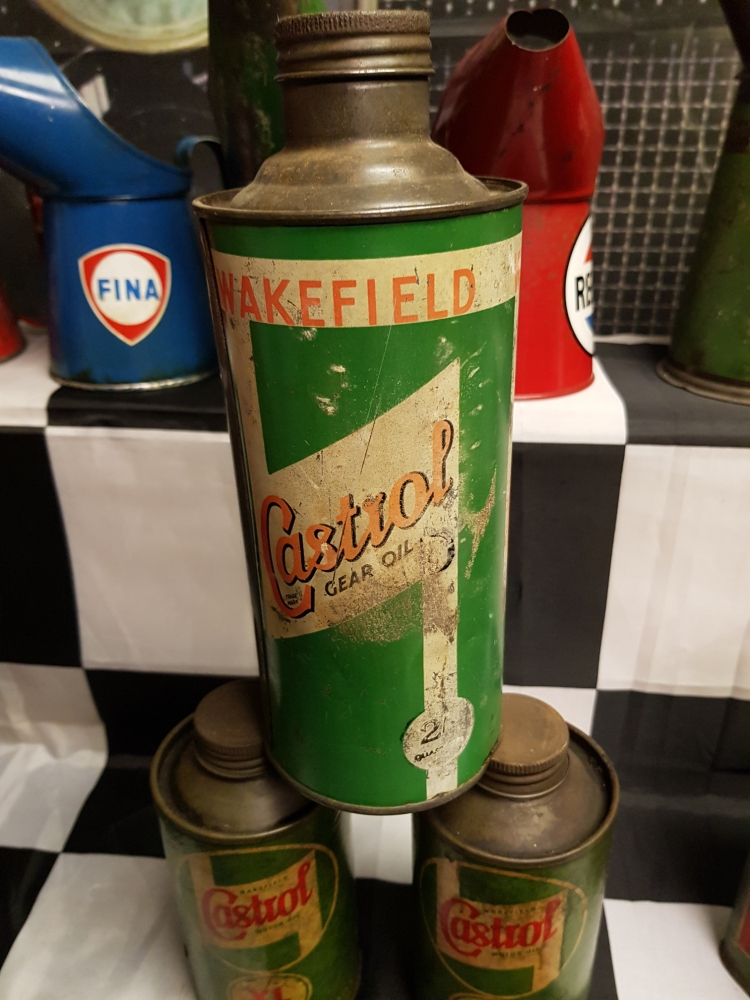 CASTROL Wakefield gear oil round can
