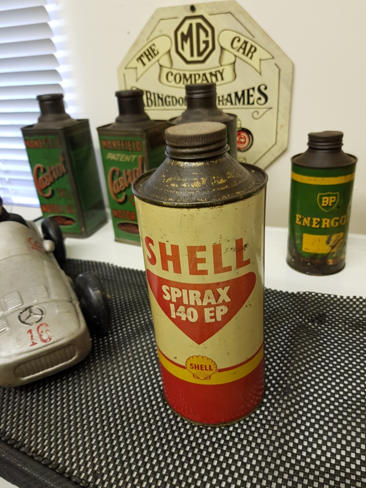 Shell Spirax 140 can 2 pint