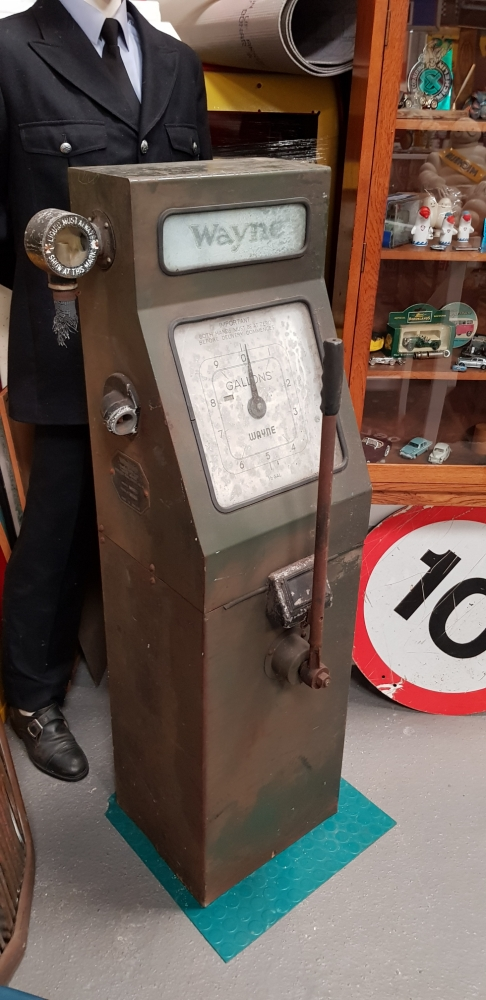 Wayne petrol pump Original unrestored condition , great patina