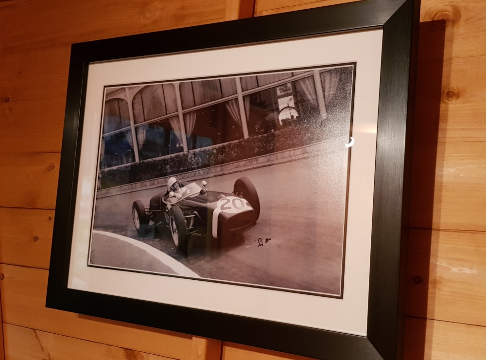 Sir Stirling Moss print no.2 of only 61 FRAMED